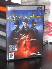 SHERLOCK HOLMES CONTRO JACK LO SQUARTATORE PC-DVD NUOVO