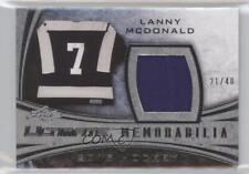 2015-16 Leaf Ultimate Memorabilia Silver #UM-12 Lanny McDonald Hockey Card