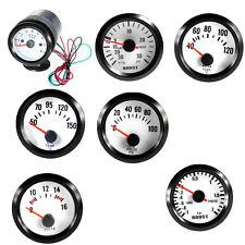"2"" Pointer Blue LED Bar Boost Water Temp Oil Temp Oil Pressure Tacho Volt Gauge"