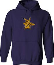 Chewbacca Pikachu Funny Unisex Mens Women Pullover Sweatshirt Hoodie Sweater
