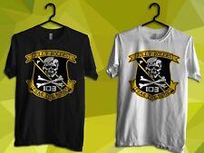 VFA 103 VF 84 Jolly Rogers Fear the Bones US Navy Best Gildan T-Shirt S-2XL Size