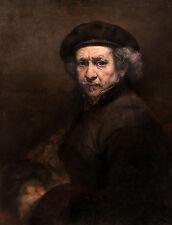 Rembrandt van Rijn - Self-Portrait, Museum Art Poster, Canvas Print
