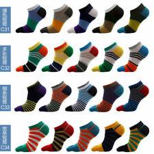5pairs Unisex Toe Finger Ankle Socks Sport Sock Cotton Skating Socks Multi-size