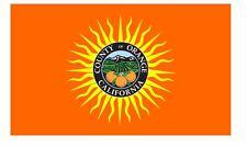 Orange County California Flag Sticker Decal F698