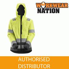 Snickers 1347 AllroundWork, Women's Hi-Vis Waterproof Shell Jacket YELLOW