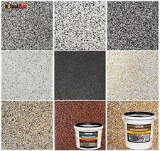 Buntsteinputz Mosaikputz 5 kg - 25 kg + Quarzgrund Profi Qualität -Selbstauswahl