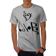 Music Love Men T-shirt NEW | Wellcoda