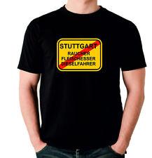 T-shirt stuttgart-fumadores diesel auto escudo diesel más divertidos hechizo siviwonder