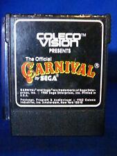 Coleco Vision Carnival By Sega Video Game