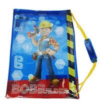 Bob el constructor Azul Pvc Impermeable Para Escuela natación Bolsa de deporte