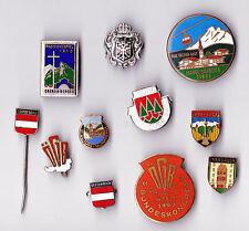Vintage AUSTRIA pin badge brooches Österreich Oesterreich Anstecknadeln Brosche