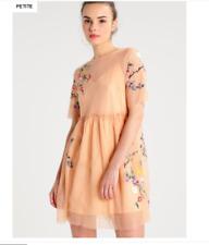 Beautiful Topshop Petite Summer dress - peach RRP-£45