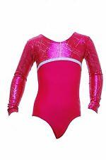 Canberra POM à Manches Longues Filles/Femmes/Gym/Danse/Gymnastique/Justaucorps