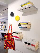 kriptonite minus, mensola a parete porta libri, cd, dvd design