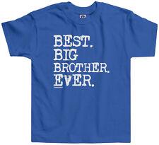 Threadrock Boys Best Big Brother Ever Toddler T-shirt Sibling Slogan Gift