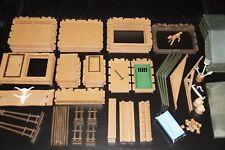 Playmobil 3768 Silver rancho piezas de repuesto a partir de 1,35 € escoger Western estación de mercancías