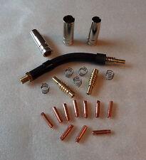 Typ MB 15 MIG/MAG Set 0,6/0,8/1,0 Orig.Binzel Brennerhals,Gas-Stromdüsen,kon/zyl