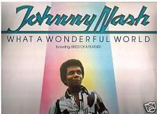 Johnny Nash - What A Wonderful World -Record LP