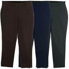 sheego Bengalin Stretch Hose Damen Die Schmale Pants Kurzgröße Viskose