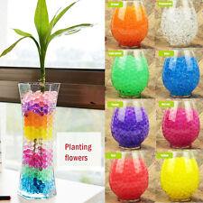 Aqua Beads Cristallo Suolo Bio Gel Sfera Wedding tavolo Decorazione Vaso Filler centrotavola
