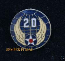 20TH US AIR FORCE 1ST ATOMIC BOMB DROP HAT PIN B-29 F.E. Warren AFB SAC ARMY AIR