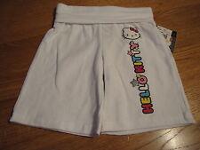 Girls Hello Kitty white long Shorts 6X NEW HK55258A NWT^^