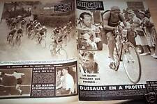 MIROIR SPRINT 1950 N 215 TOUR DE FRANCE 8e ETAPE