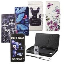 Handyhülle Schutz Tasche Case Cover Wallet Kunstleder für Handy Samsung Galaxy