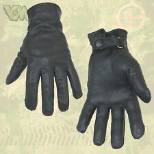 Grau S-XXL BW Lederhandschuhe Nachbau Bundeswehr Handschuhe gefüttert Schwarz o