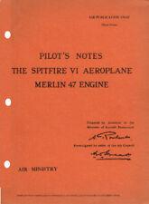 PILOTS NOTES: SPITFIRE VI HIGH-ALTITUDE FIGHTER/ DIGITAL PDF DOWNLOAD VOUCHER