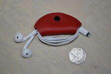 Handmade Leather Headphone & Cable Holders