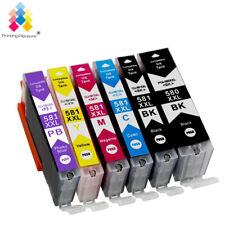 Lot PGI580XXL CLI581XXL Ink Compatible for Canon Pixma TR7550 TR8550 TS8150