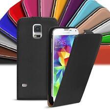 Samsung Galaxy Mini s5 móvil cartera flip case cover funda protectora slim plegable, estuche, protección