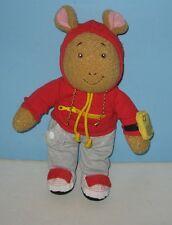 "Playskool 1996 Arthur Learn to Dress Me Learning 16"" Stuffed Plush"