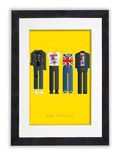 Sex Pistols-Fred Birchal Disfraz obras de arte grabado