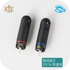 1pcs KLE 2nd Generation ETI Bullet RCA Plug Copper/Silver Edition Beyond WBT