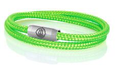 "Marinera _ maritimes segeltau pulsera ""Norderney"" Neon-verde 4mm"