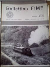 Bollettino FIMF 114 1980 - modellismo ferroviario
