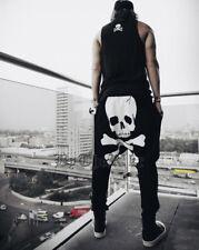 USA Seller: Men's Skull Harem Baggy Pants, Casual Pants, Fashion Pants, Jogger