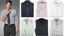 Mens Shirt Van Heusen Slim Fit Cotton Rich Easy Iron Long Sleeve Fancy