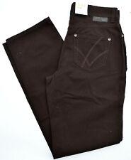 MAC Jeans STELLA Bi- Stretch dunkel braun straight fit Gr.36 L 32 NEU