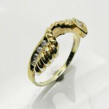 DIAMOND WRAP ENHANCER RING IN 14K YELLOW GOLD RET $1099