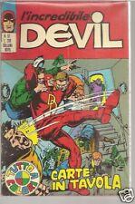 EDIZIONE CORNO-INCREDIBILE DEVIL  # 57- ORIGINALE-1970