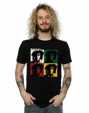 Bob Marley Men's Colour Blocks T-Shirt