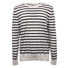 C7320 maglione uomo DOLCE&GABBANA D&G cachemire nero/bianco sweater man