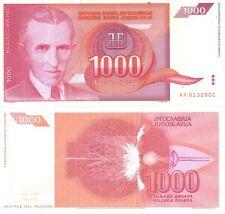 MULTI-VARIATION LISTING 20 denominations dinara banknotes of Yugoslavia UNC