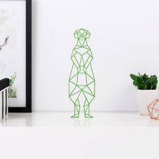 """Kleinlaut 3D-Origami """"Erdmännchen"""" 32 Farben & 5 Größen Geschenkidee Gebutstag"""