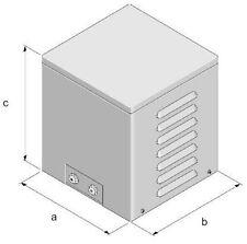 Stahlblechgehäuse für Transformator, steel enclosures, IP23, transformer: