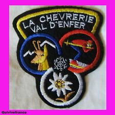 SK635 PATCH SKI  LA CHEVRERIE VAL D'ENFER