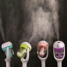 AU 12V Car Air Humidifier Diffuser Essential Oil Ultrasonic Aroma Mist Purifier